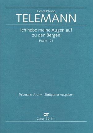 Ich Hebe Meine Augen Auf Den Bergen TVWV 7:15 - laflutedepan.com
