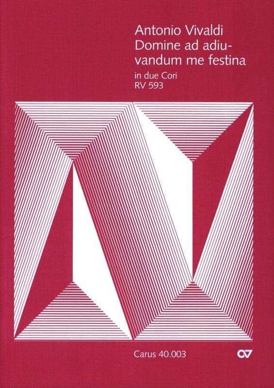 Domine Ad Adiuvandum me Festina RV 593 - VIVALDI - laflutedepan.com