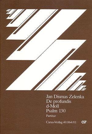 Jan Dismas Zelenka - Profundis、詩篇130. Dマイナー - Partition - di-arezzo.jp