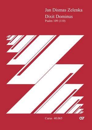 Jan Dismas Zelenka - Dixit Dominus。導体 - Partition - di-arezzo.jp