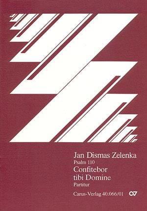 Confitebor Tibi Domine Zwv 71 - ZELENKA - Partition - laflutedepan.com