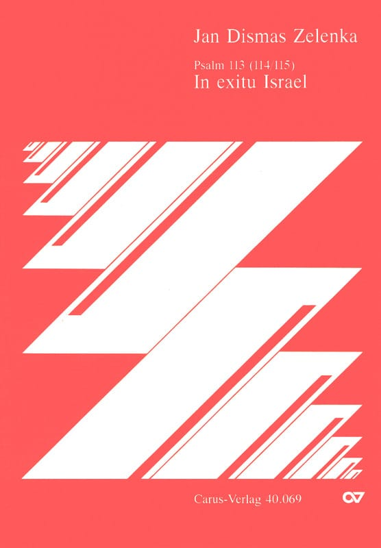 In Exitu Israel. Zwv 84 - ZELENKA - Partition - laflutedepan.com