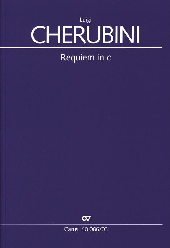 Luigi Cherubini - Requiem In C Minor - Partition - di-arezzo.co.uk