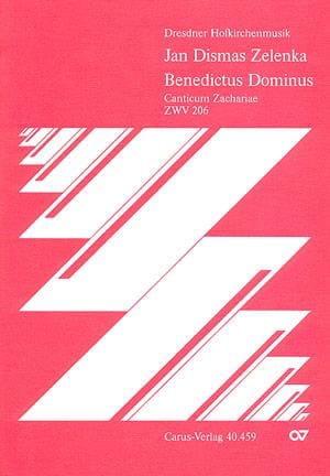 Jan Dismas Zelenka - ベネディクトゥスドミヌスZwv 206 - Partition - di-arezzo.jp