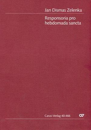 Responsoria de Hebdomada Sancta Zwv 55 - ZELENKA - laflutedepan.com