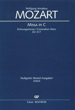 MOZART - Krönungsmesse. KV 317 - Partition - di-arezzo.co.uk