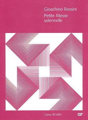 Gioachino Rossini - Pequeña misa solemne - Partition - di-arezzo.es