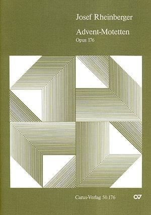 9 Advents-Motetten Opus 176 - RHEINBERGER - laflutedepan.com