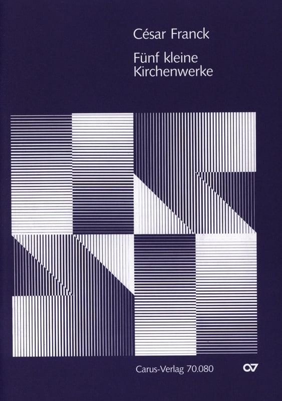 César Franck - 5 Kleinere Kirchenwerke - Partition - di-arezzo.co.uk