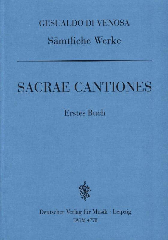 Sacrae Cantiones Volume 1 - laflutedepan.com
