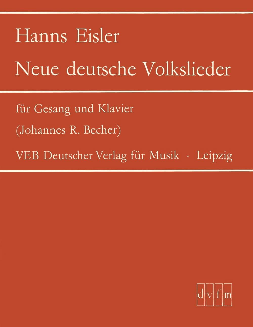 Neue deutsche Volkslieder - Hanns Eisler - laflutedepan.com