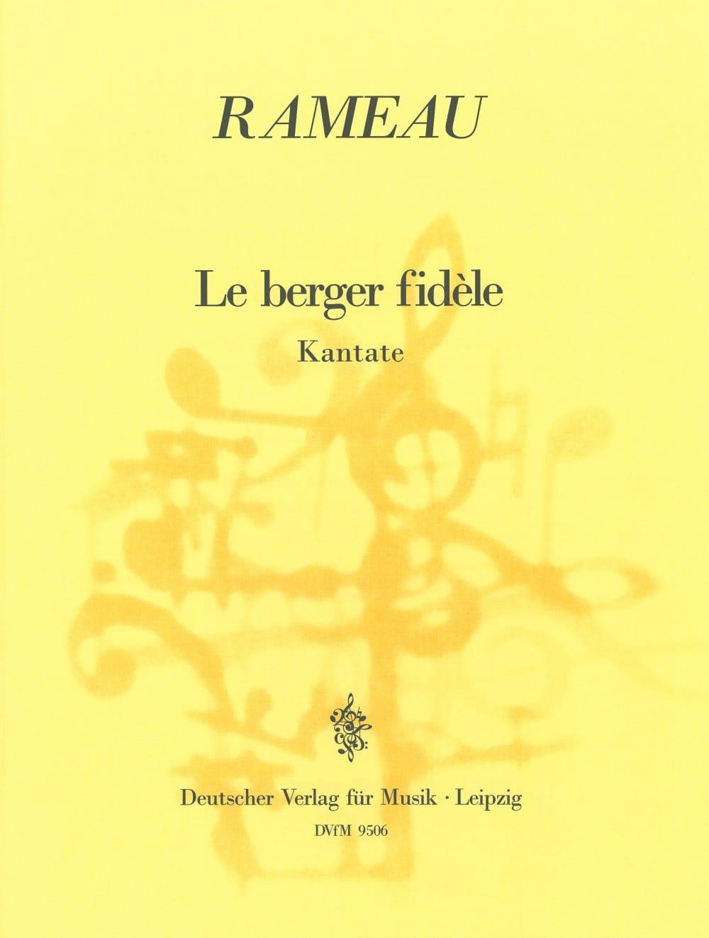 Le Berger Fidèle. - Jean-Philippe Rameau - laflutedepan.com