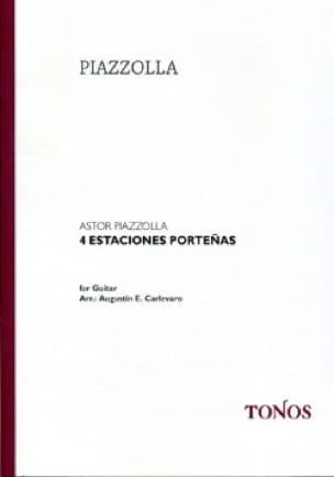 Astor Piazzolla - 4 Estaciones Porteñas - Partition - di-arezzo.co.uk