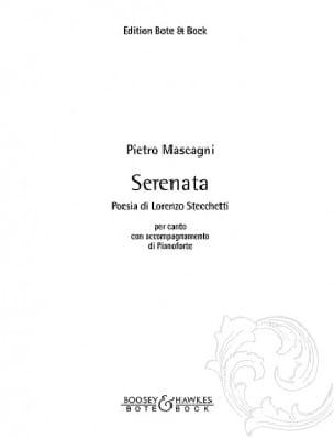 Serenata : Come Col Capo - Pietro Mascagni - laflutedepan.com
