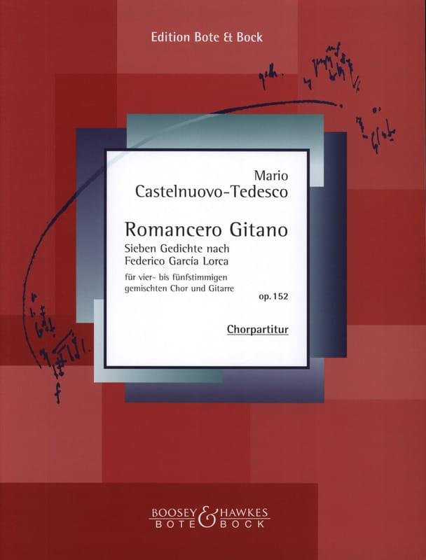 Romancero Gitano - Mario Castelnuovo-Tedesco - laflutedepan.com
