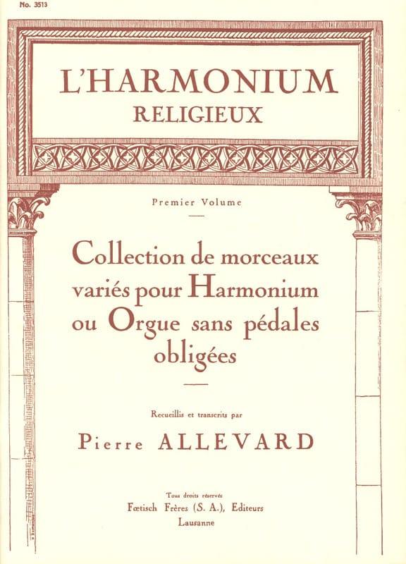 L' Harmonium Religieux Volume 1 - Partition - laflutedepan.com