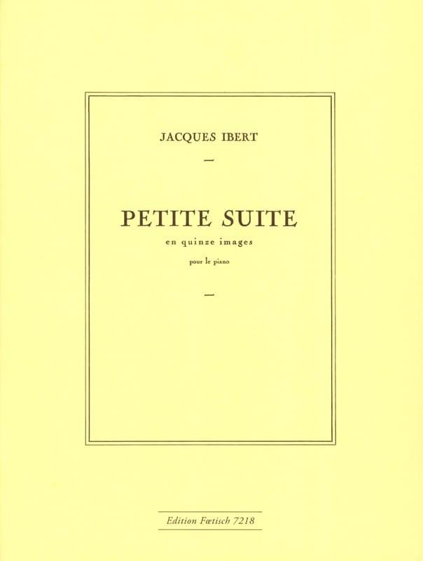Jacques Ibert - Petite suite en 15 images - Partition - di-arezzo.fr