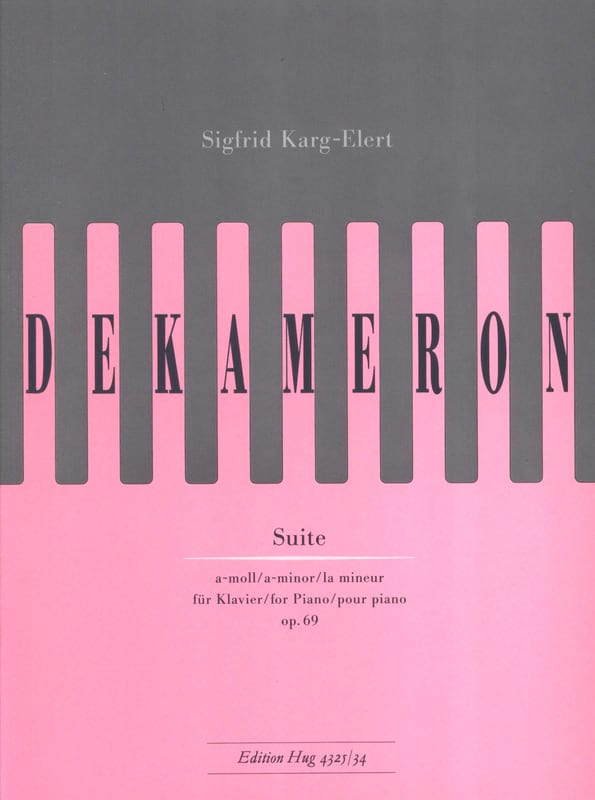 Dekameron Op. 69 - Sigfried Karg-Elert - Partition - laflutedepan.com