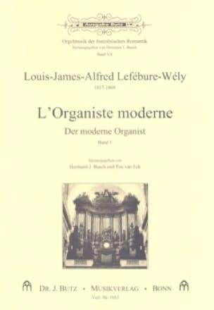 LEFÉBURE-WÉLY - The Modern Organist, Volume 1 - Partition - di-arezzo.co.uk