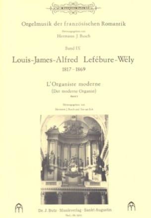 LEFÉBURE-WÉLY - The Modern Organist, Volume 3 - Partition - di-arezzo.co.uk
