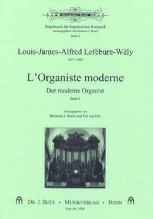 LEFÉBURE-WÉLY - The Modern Organist, Volume 4 - Partition - di-arezzo.co.uk