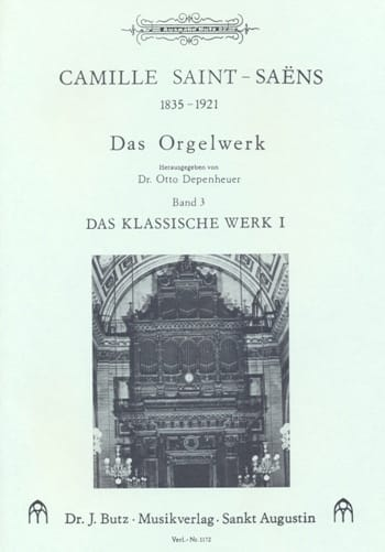 Camille Saint-Saëns - Organ Work Volume 3 - Partition - di-arezzo.com