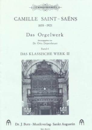Camille Saint-Saëns - Organ Work Volume 4 - Partition - di-arezzo.com