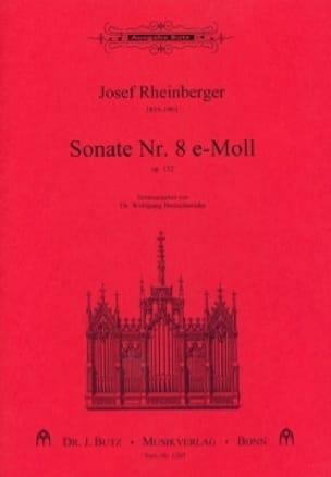 Sonate N° 8 Opus 132 - RHEINBERGER - Partition - laflutedepan.com