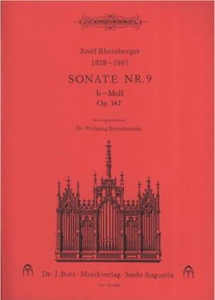 Sonate N° 9 Op. 142 - RHEINBERGER - Partition - laflutedepan.com