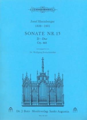 Sonate N° 15 Op. 168 - RHEINBERGER - Partition - laflutedepan.com