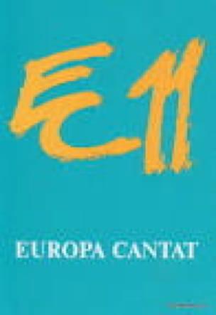 Europa Cantat 11 - Partition - Chœur - laflutedepan.com