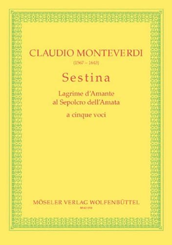 Claudio Monteverdi - Sestina - Partition - di-arezzo.co.uk