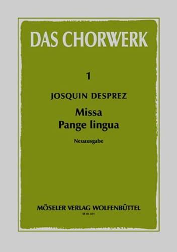 Missa Pange lingua - Josquin Desprez - Partition - laflutedepan.com