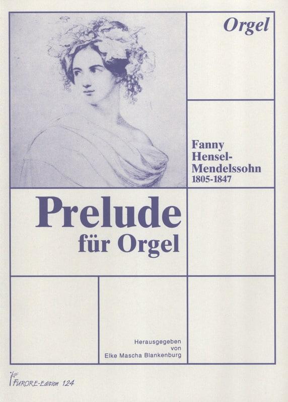 Prélude pour Orgue - Fanny Hensel-Mendelssohn - laflutedepan.com