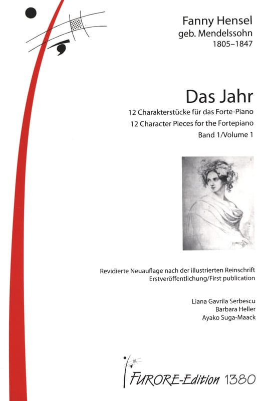 Das Jahr 2 volumes - Fanny Hensel-Mendelssohn - laflutedepan.com