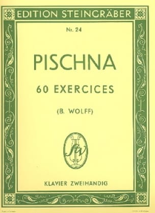 Johann Pischna - 60 Progressive exercises - Partition - di-arezzo.co.uk