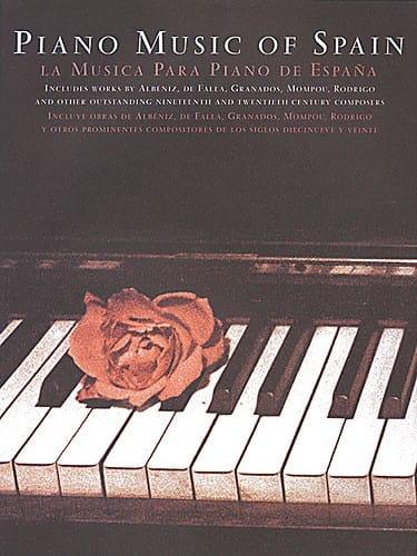 Piano Music Spain. Rose - Partition - Piano - laflutedepan.com