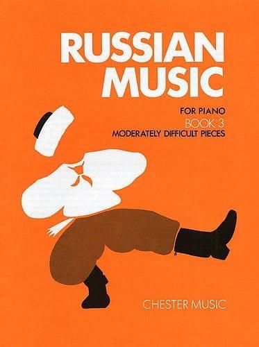 Russian Music Volume 3 - Partition - Piano - laflutedepan.com