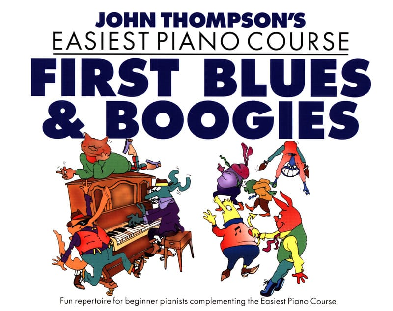 john Thompson - First Blues And Boogies - Partition - di-arezzo.co.uk