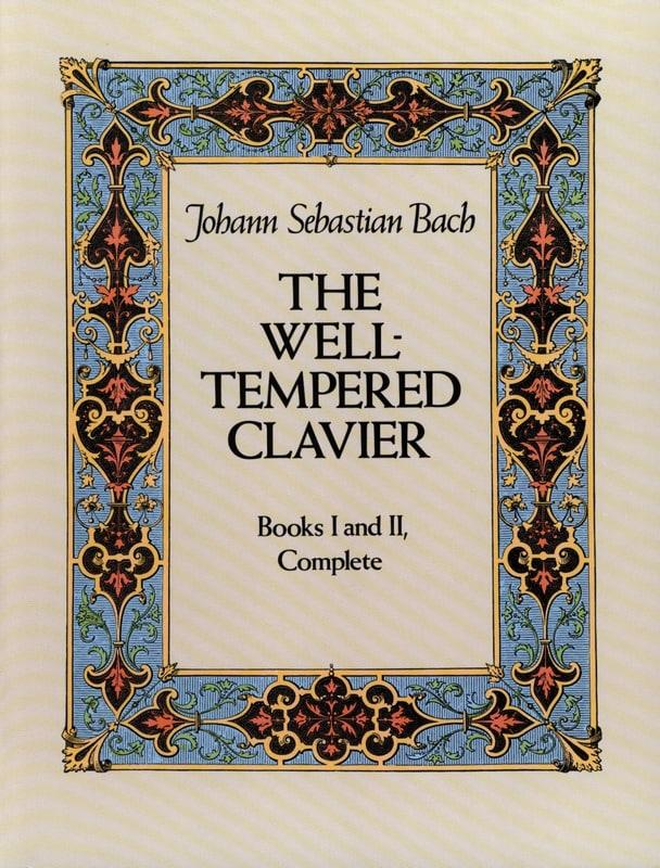 Le Clavier Bien Tempéré. Livres 1 & 2 Complet - laflutedepan.com