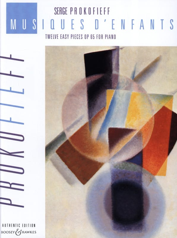Sergei Prokofiev - Musiques D'enfants Opus 65 - Partition - di-arezzo.fr