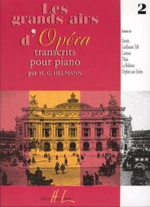 Les Grands Airs D'opéra Volume 2 - Partition - laflutedepan.com