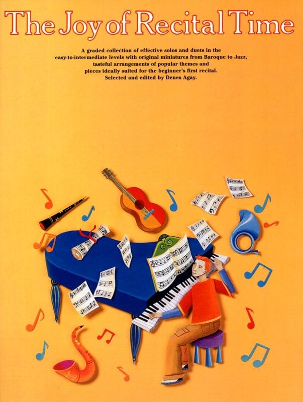 Joy Of Recital Time - Partition - Piano - laflutedepan.com