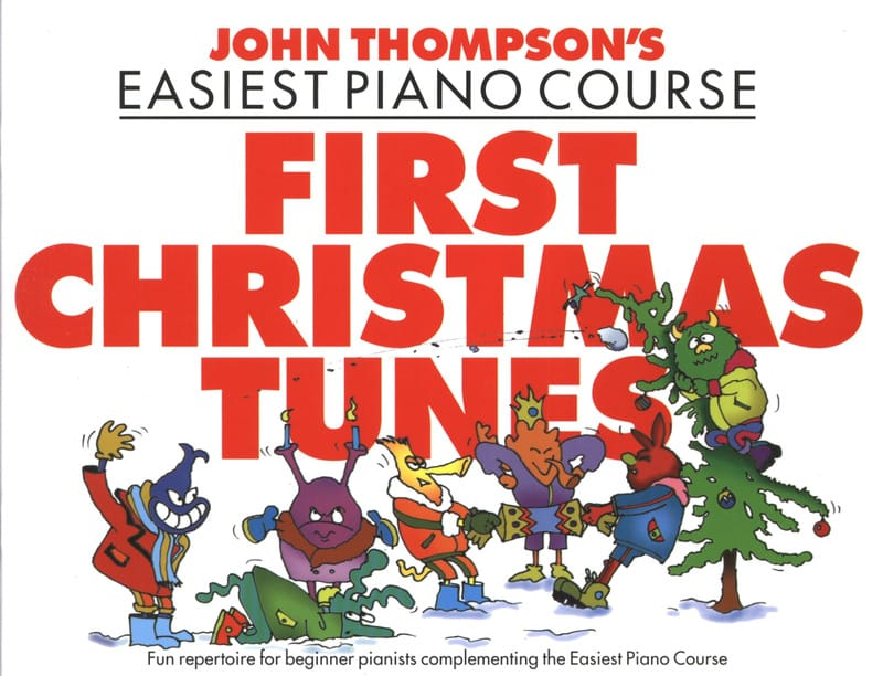 First Christmas Tunes - John Thompson - Partition - laflutedepan.com