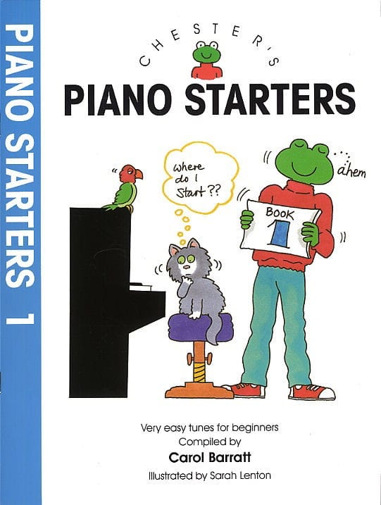 Piano Starters Volume 1 - Carol Barratt - Partition - laflutedepan.com