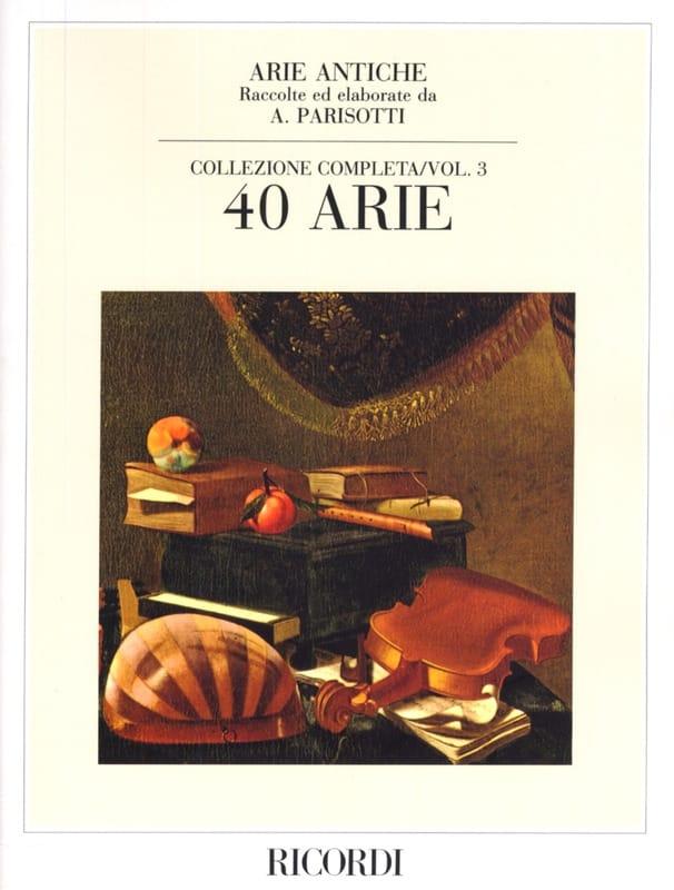 Alessandro Parisotti - Arie Antiche Volume 3 - Partition - di-arezzo.co.uk