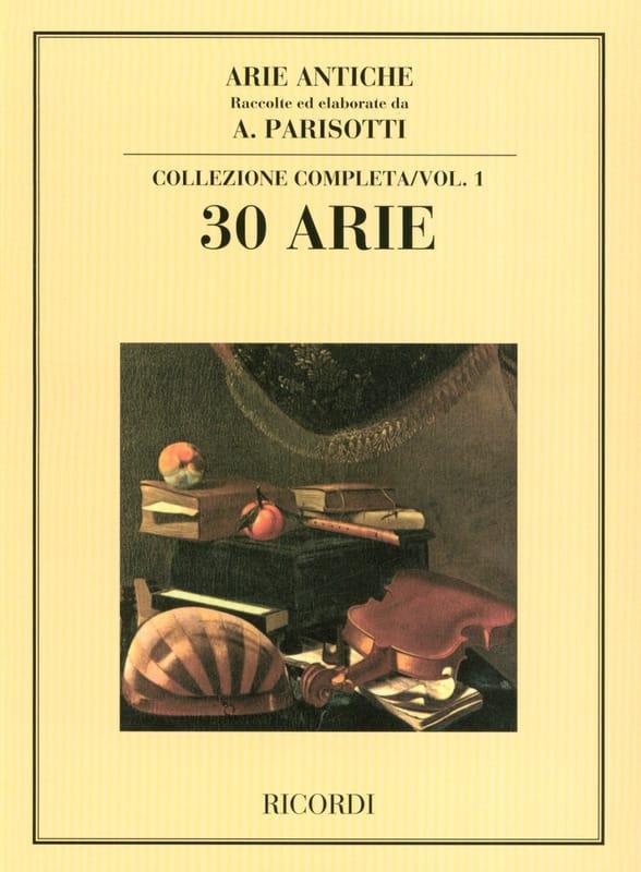 Alessandro Parisotti - Arie Antiche Volume 1 - Partition - di-arezzo.co.uk