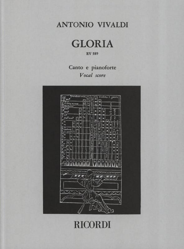 VIVALDI - Gloria - Partition - di-arezzo.fr