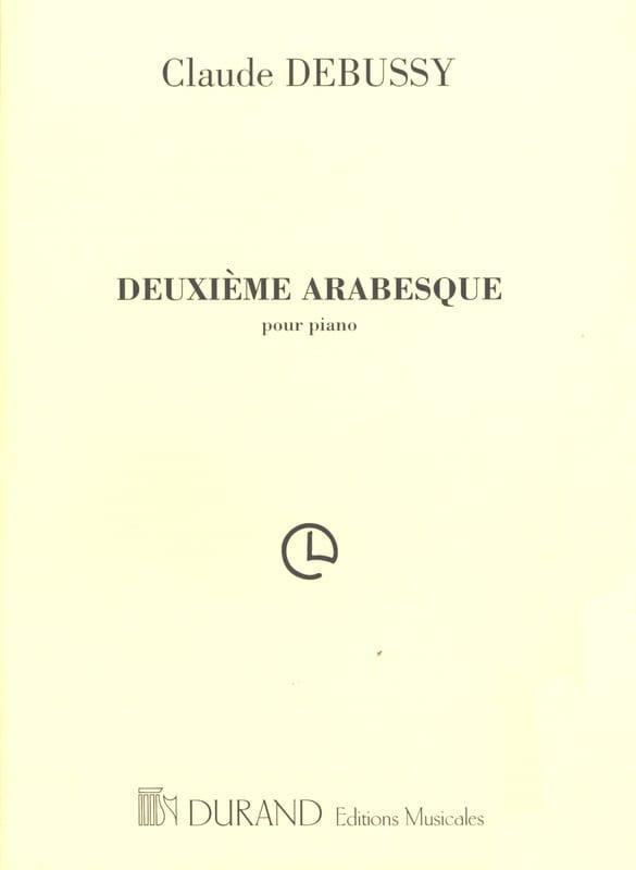 DEBUSSY - 2nd Arabesque - Partition - di-arezzo.com