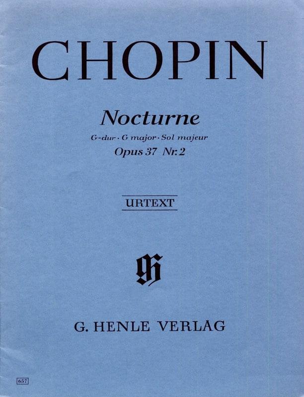 Nocturne en Sol majeur Op. 37-2 - CHOPIN - laflutedepan.com
